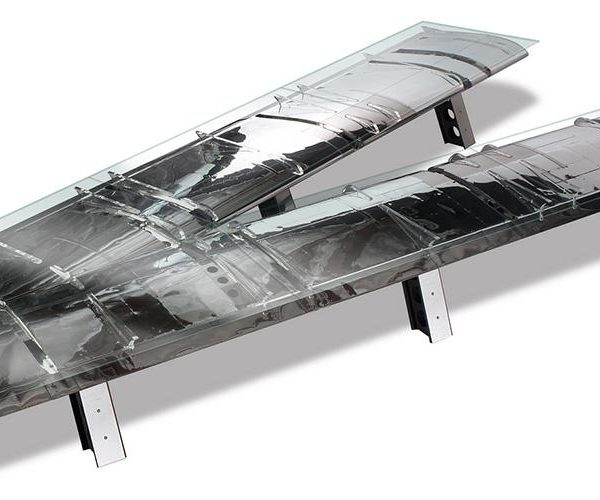 C WING FLAP VSHAPED CONFERENCE TABLE Sky Art JAPAN - V shaped conference table