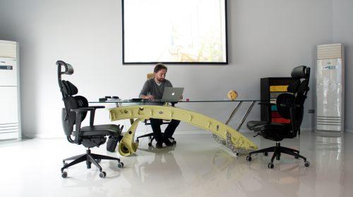 飛行機部品デスク・テーブル