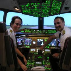 ボーイング787現役女性パイロット