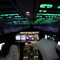 パイロットの景色