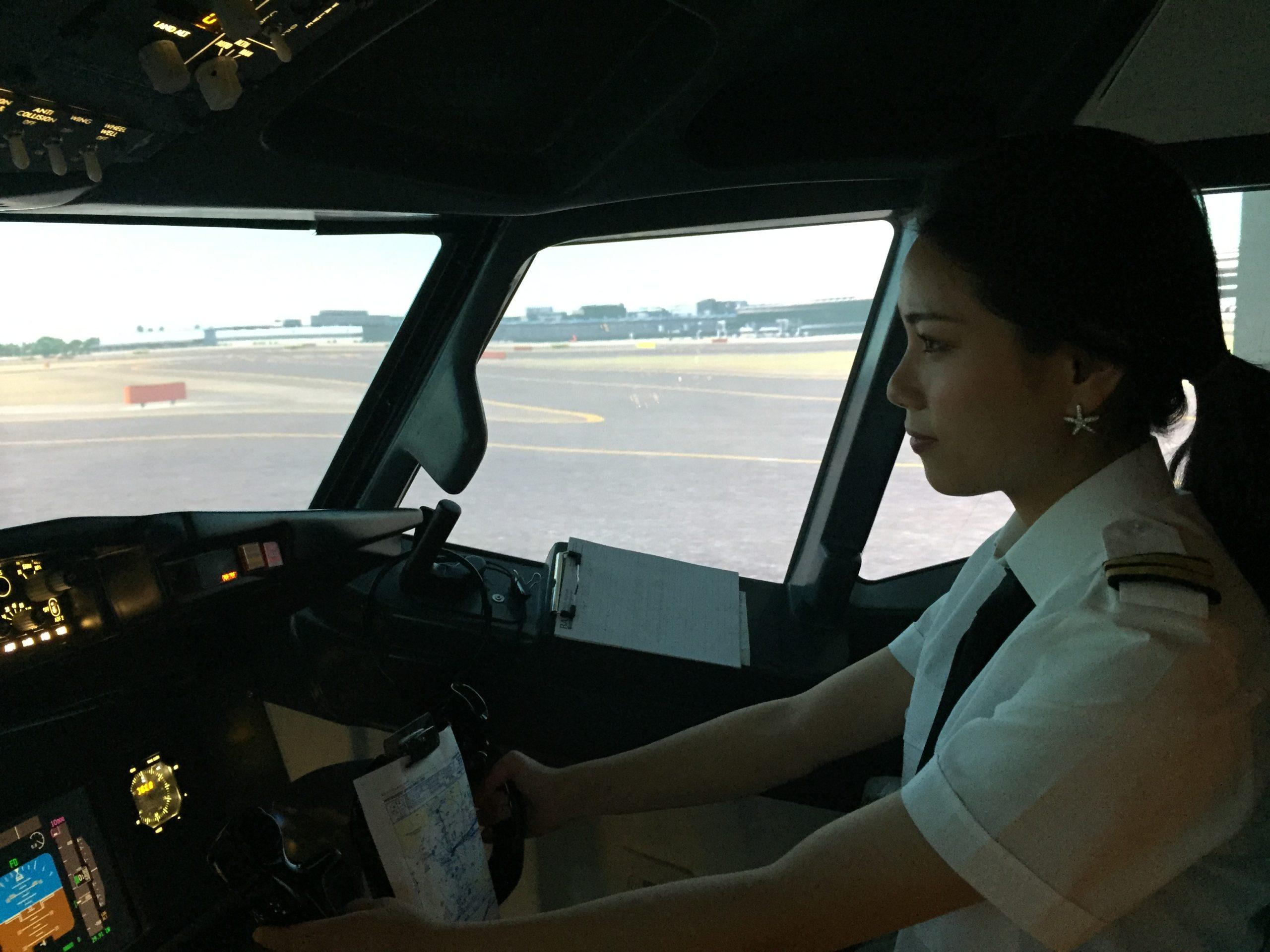 女性パイロットについて!! | Skyart JAPAN