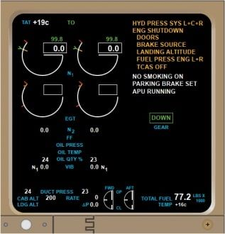 EICAS Systemとは | Skyart JAPAN