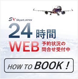 how to book SkyartJapan