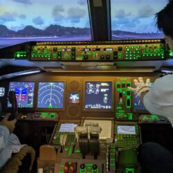 ANAのパイロット体験ツアー